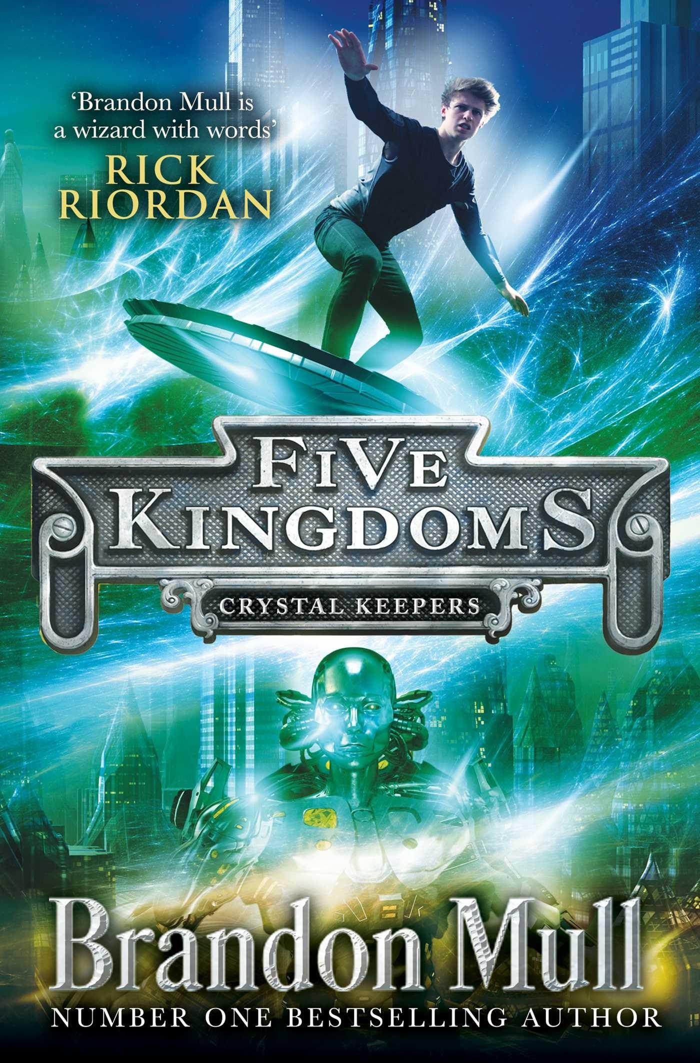 Buy Five Kingdoms: Crystal Keepers (Five Kingdoms 3) Book Online ...