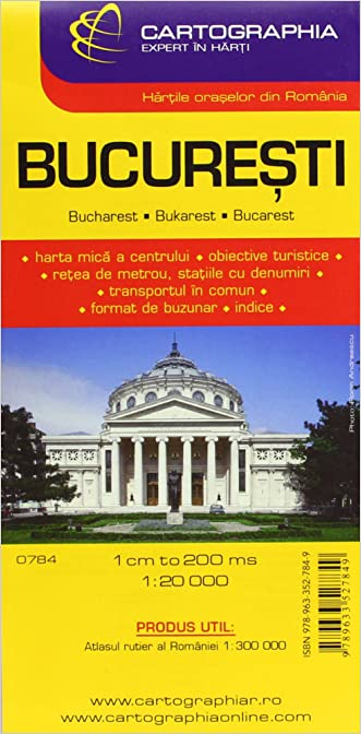 Bucharest city (City Map)