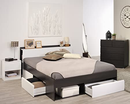 """Parisot Schlafzimmer-Set """"Most"""" Kaffee/Weiß"""