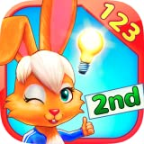 Wonder Bunny Math Race: 2nd Grade App for Numbers, Addition and Subtraction