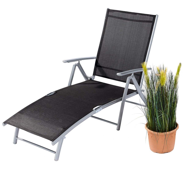 gartenliege mit stahgestell und textilbezug online kaufen. Black Bedroom Furniture Sets. Home Design Ideas