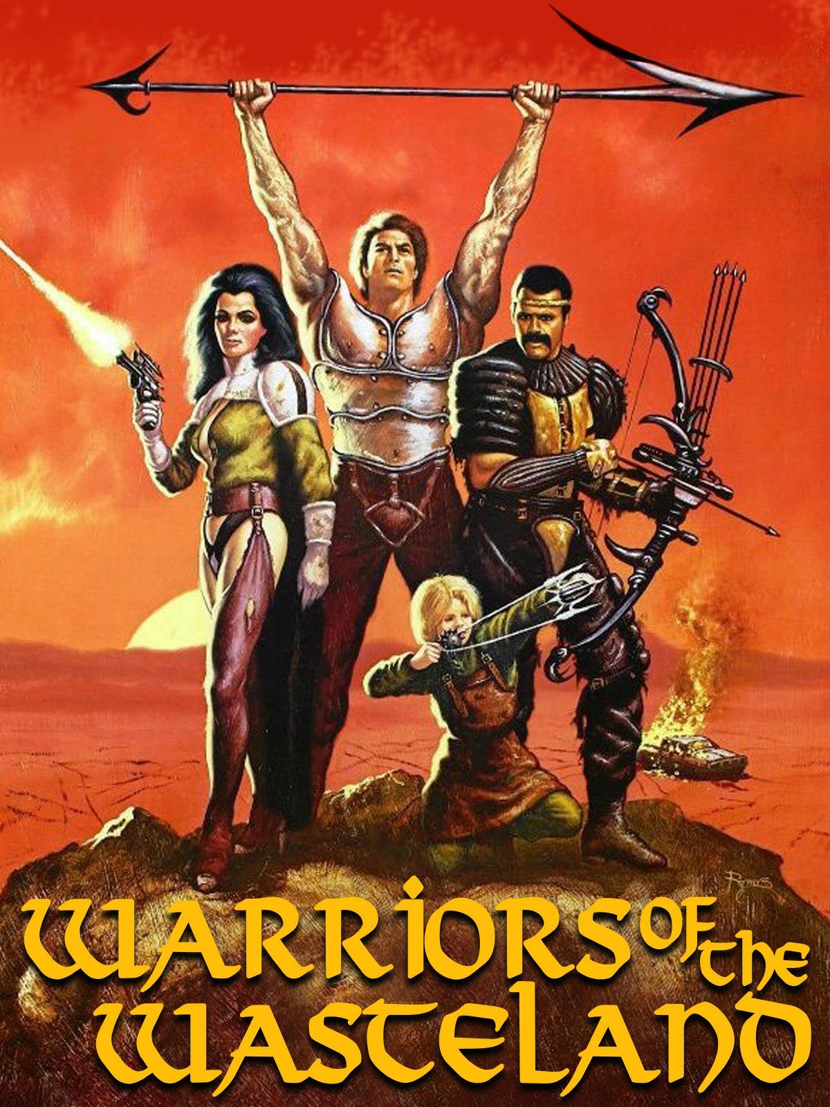 Warriors of the Wasteland on Amazon Prime Instant Video UK