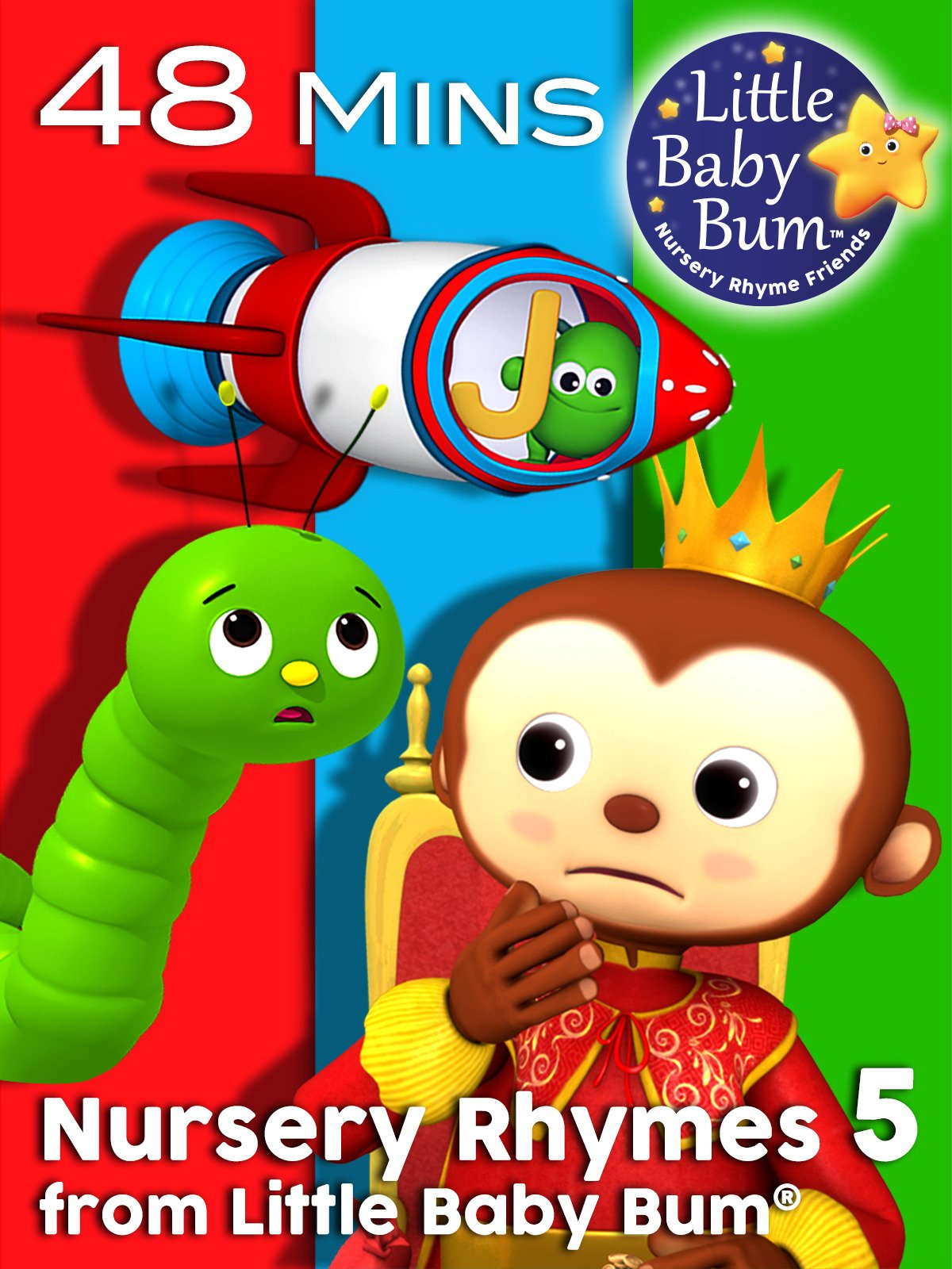 Nursery Rhymes Volume 5 by Little Baby Bum on Amazon Prime Instant Video UK