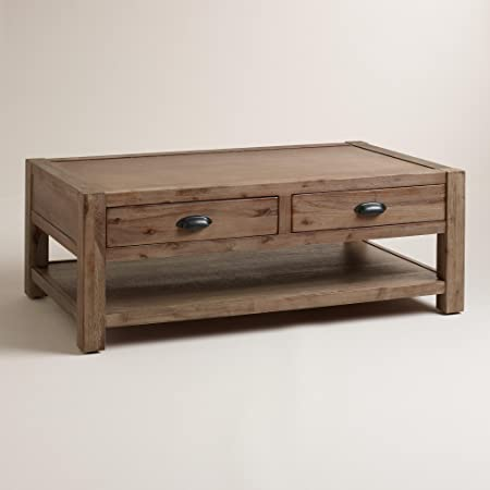 Wood Quade Coffee Table - World Market