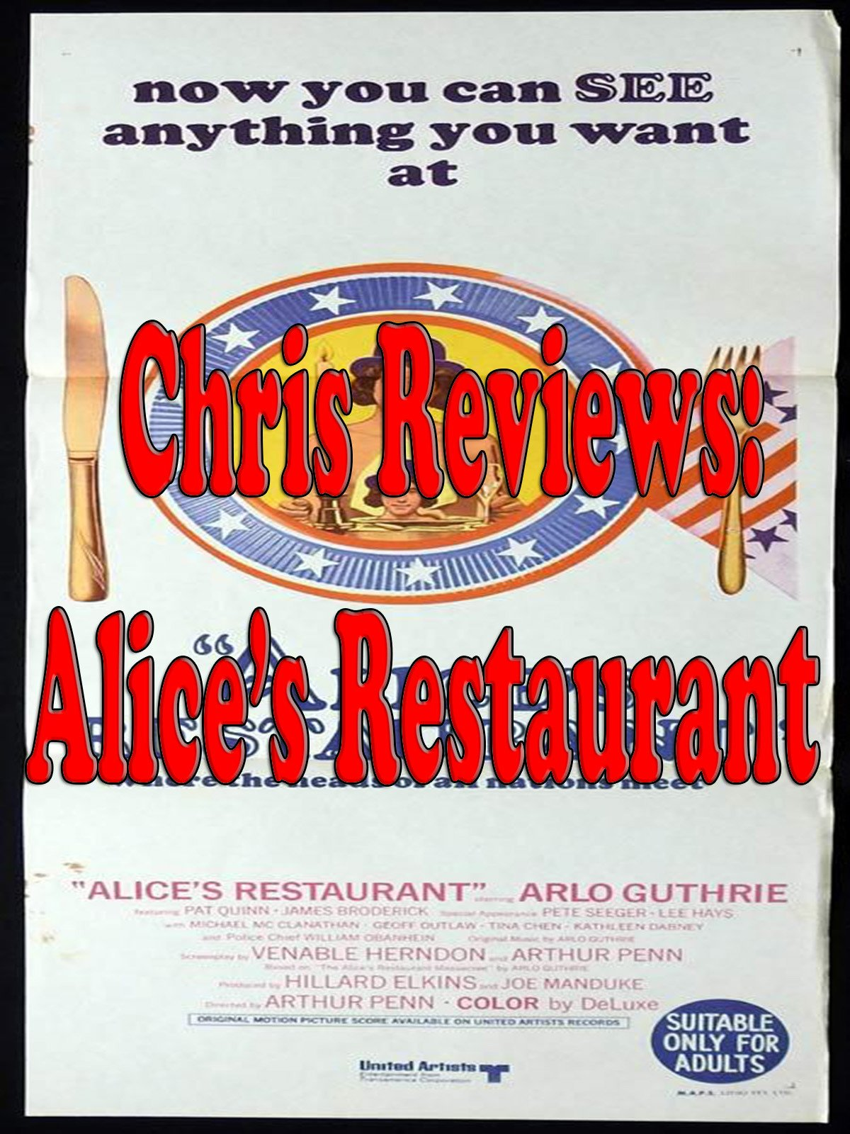 Review: Chris Reviews: Alice's Restaurant on Amazon Prime Instant Video UK