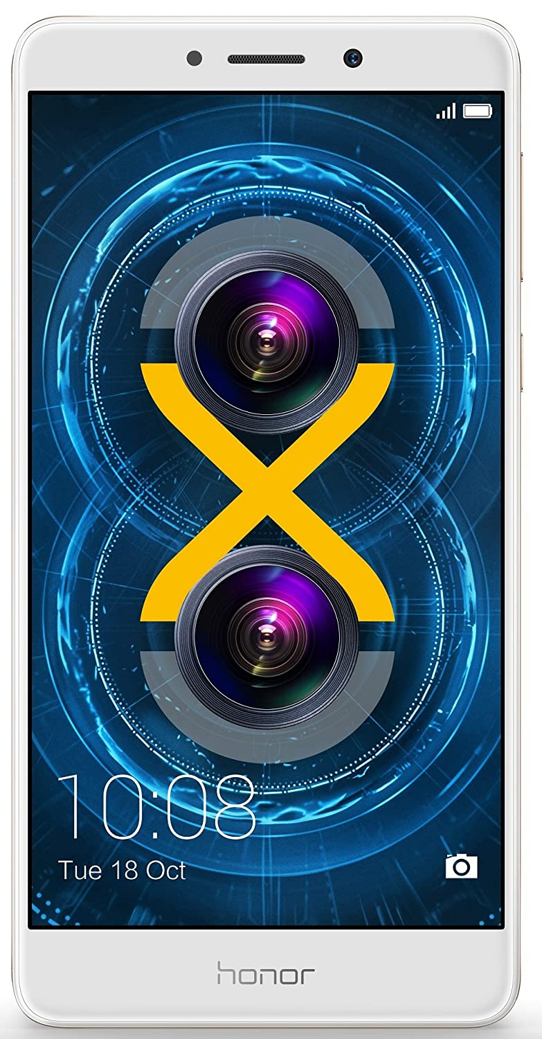 Honor 6X (Gold, 32GB) By Amazon @ Rs.12,999