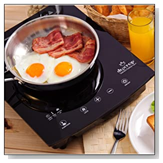 DUXTOP 8300ST Portable Sensor Touch Induction Cooktop 1800-Watt