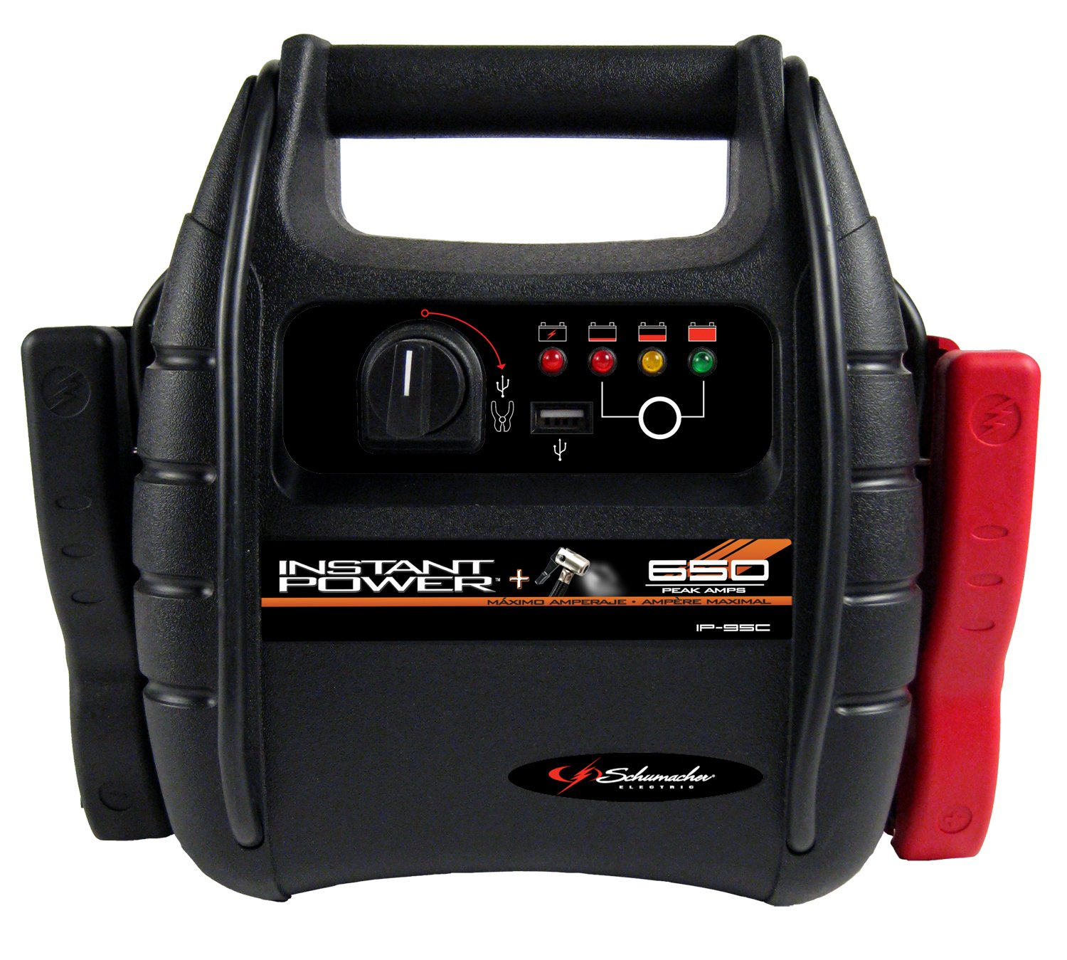 Schumacher IP-95C 9-Ah Jump Starter and Air Compressor