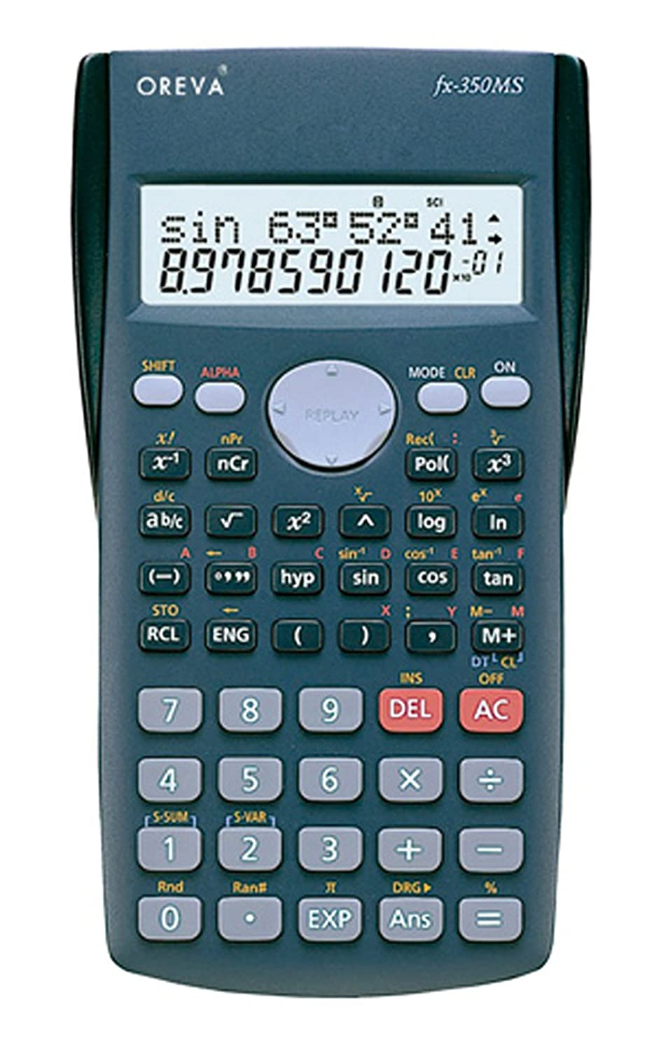 scientific calculators buy scientific calculators online at best oreva scientific fraction calculator fx 350ms