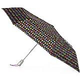 Totes Auto Open Close Umbrella, Black Rain