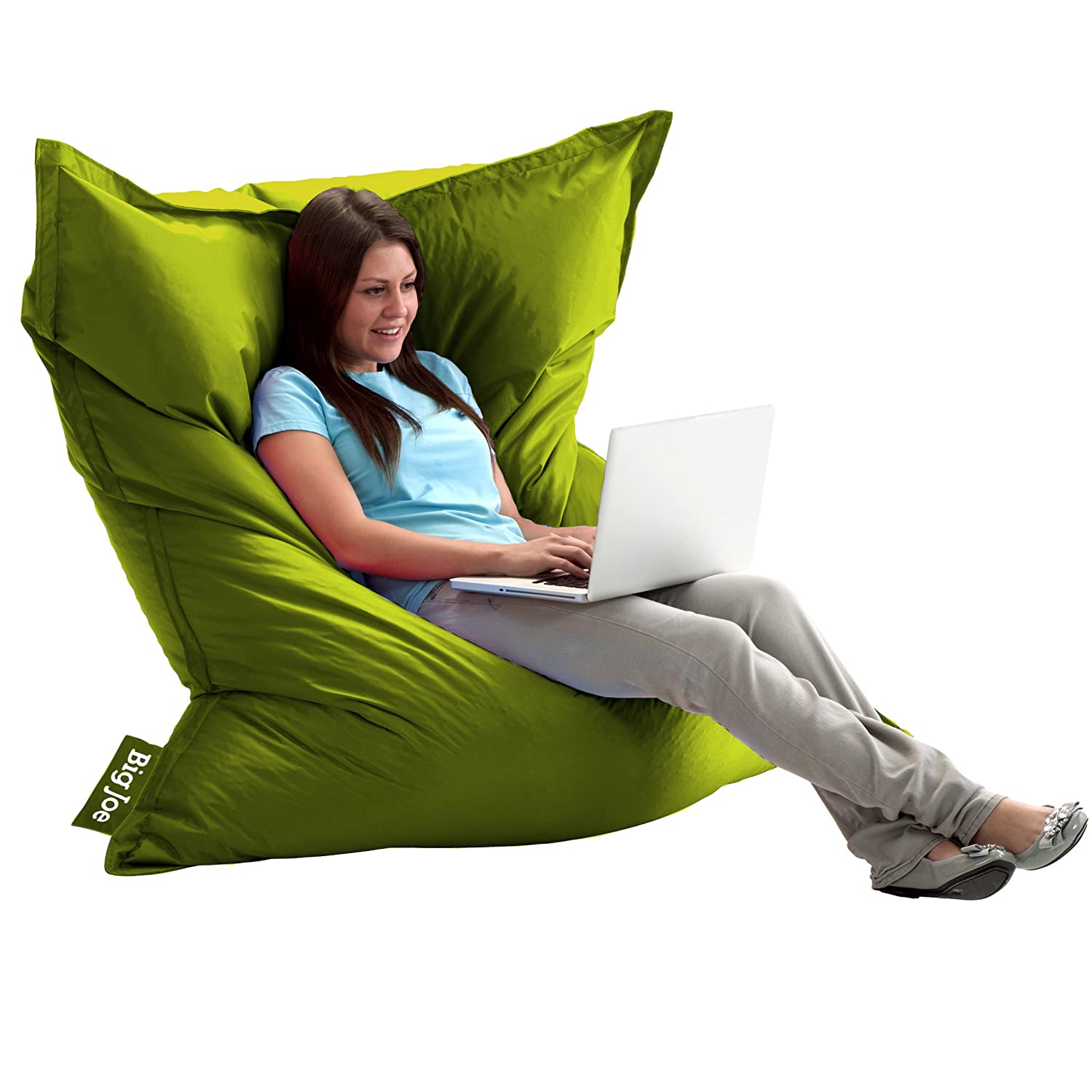 Comfort Research The Original Big Joe with Smart Max Fabric, Lime-anade