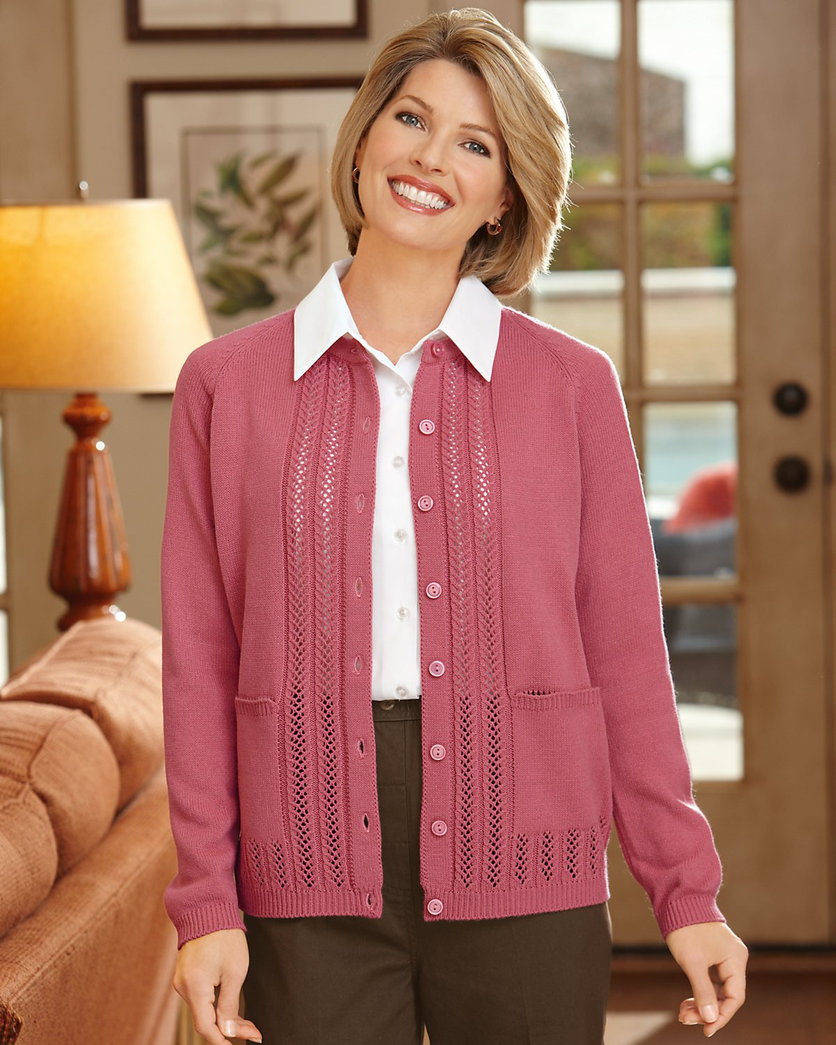 National Classic Cardigan Sweater