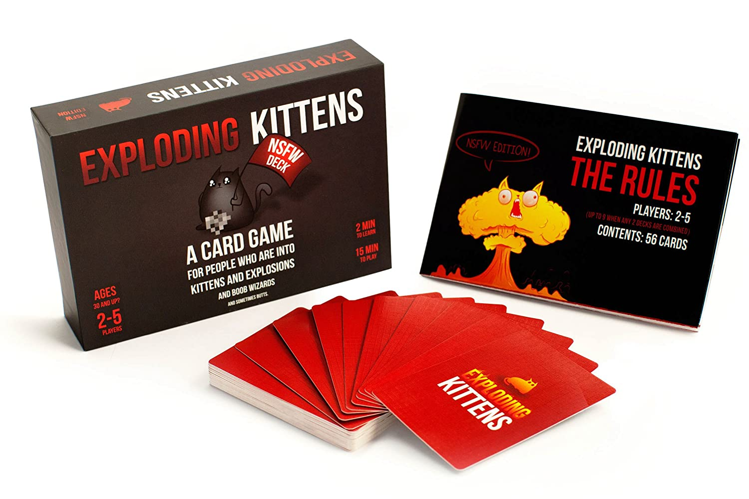 Exploding Kittens: NSFW Edition (Per Adulti) [Edizione: Inglese]
