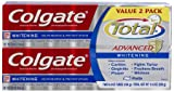 Colgate Total Advanced Whitening Paste Toothpaste Twin Pack, 11.60-Ounce total