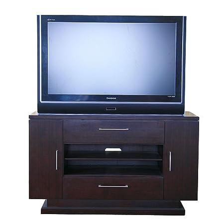 """Guoya Bamboo Shenzhen Merlot TV Stand 202-01.  36""""H x 60""""L x 20"""" W 100% Bamboo"""