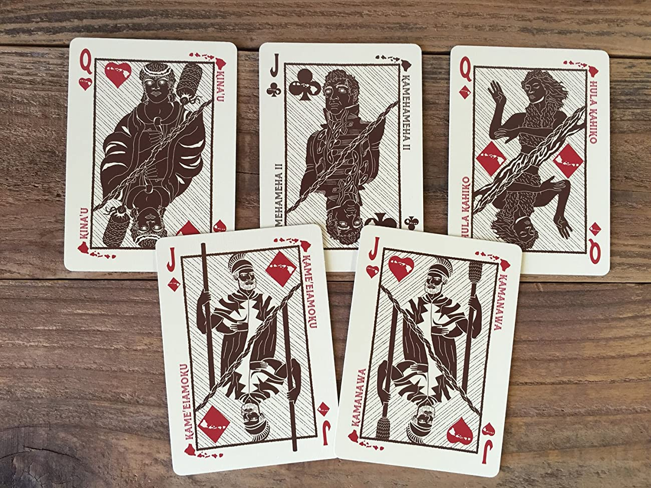 Hawaiian Limited Playing Cards 4