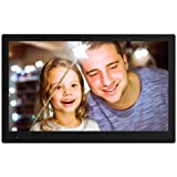 NIX Advance Digital Photo Frame 17.3 Inch X17B. Electronic Photo Frame USB SD/SDHC. Digital Picture Frame with Motion Sensor. Remote Control and 8GB USB Stick Included (Color: Black, Tamaño: 17.3 Inch)
