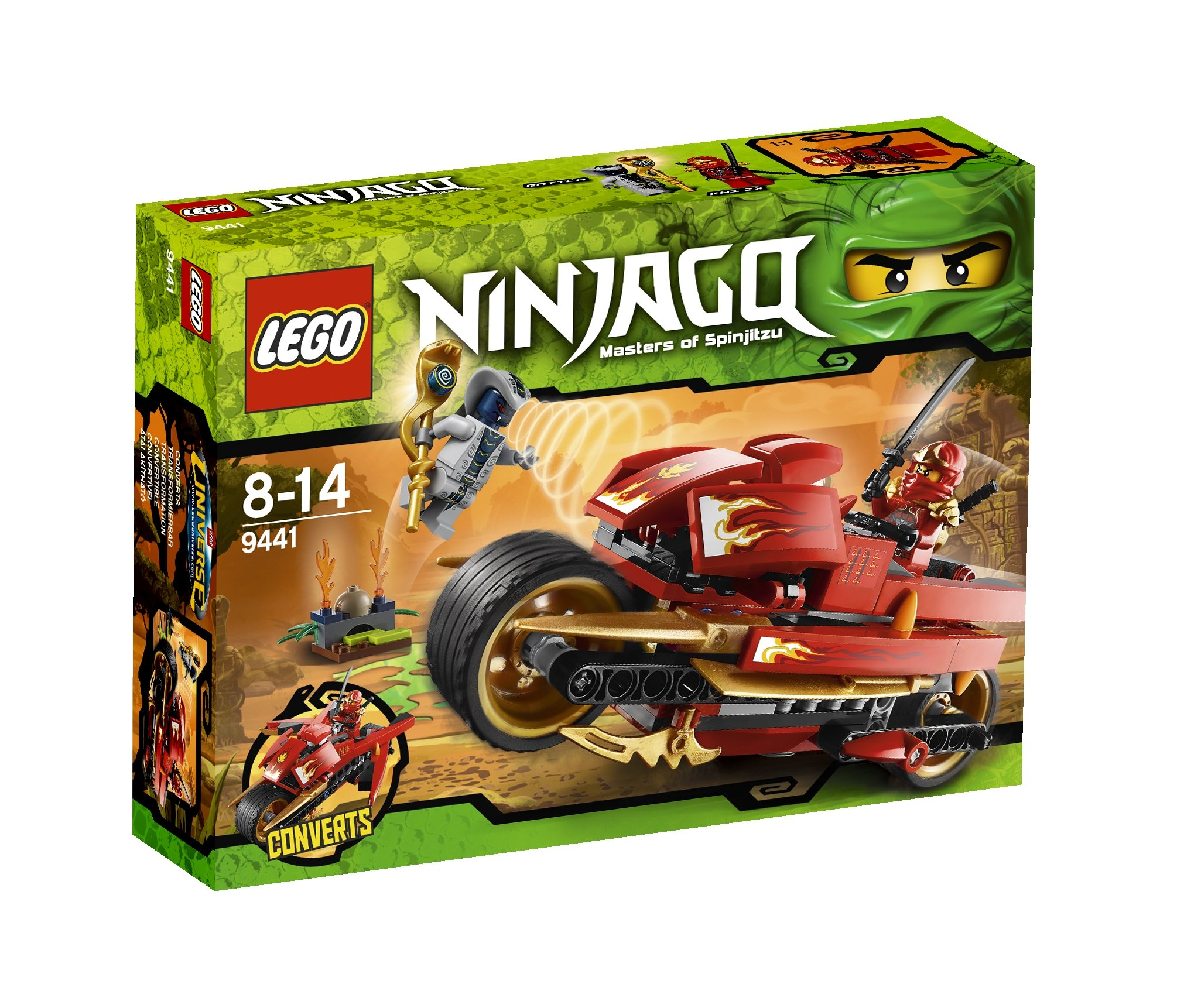 Ninjago Kai Cycle
