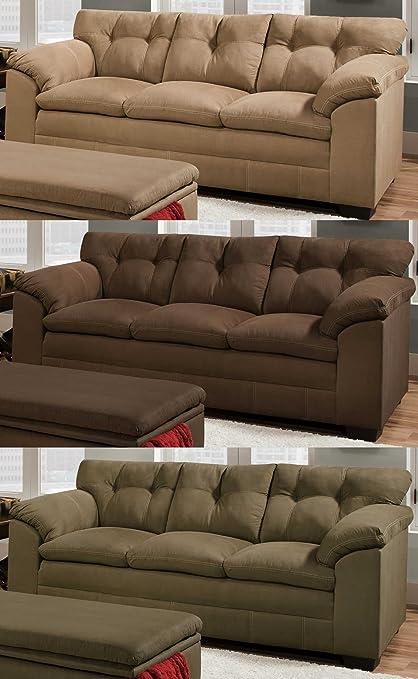 Simmons Upholstery 6765 Velocity Sofa Espresso
