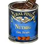 General Finishes NG Oil Base Gel Stain, Gallon, Nutmeg (Color: Nutmeg, Tamaño: 1 Gallon)