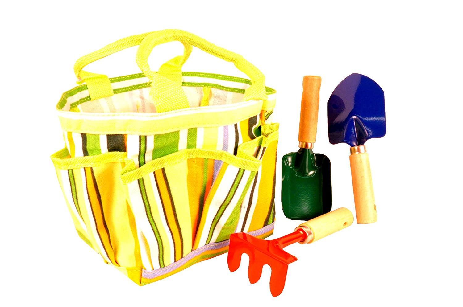 Kids need their own garden tools - Perfect set for little hands - Gardening With Kids {Weekend Links} from HowToHomeschoolMyChild.com