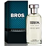 Bros. New York Obscure Eau De Toilette Spray, 3.3 Ounces 100 Ml - Scent Similar to Bottled Night By Boss (Tamaño: 3.3 FL OZ)