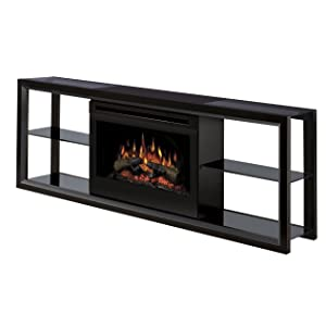 Dimplex Novara Tv Stand With Electric Fireplace In