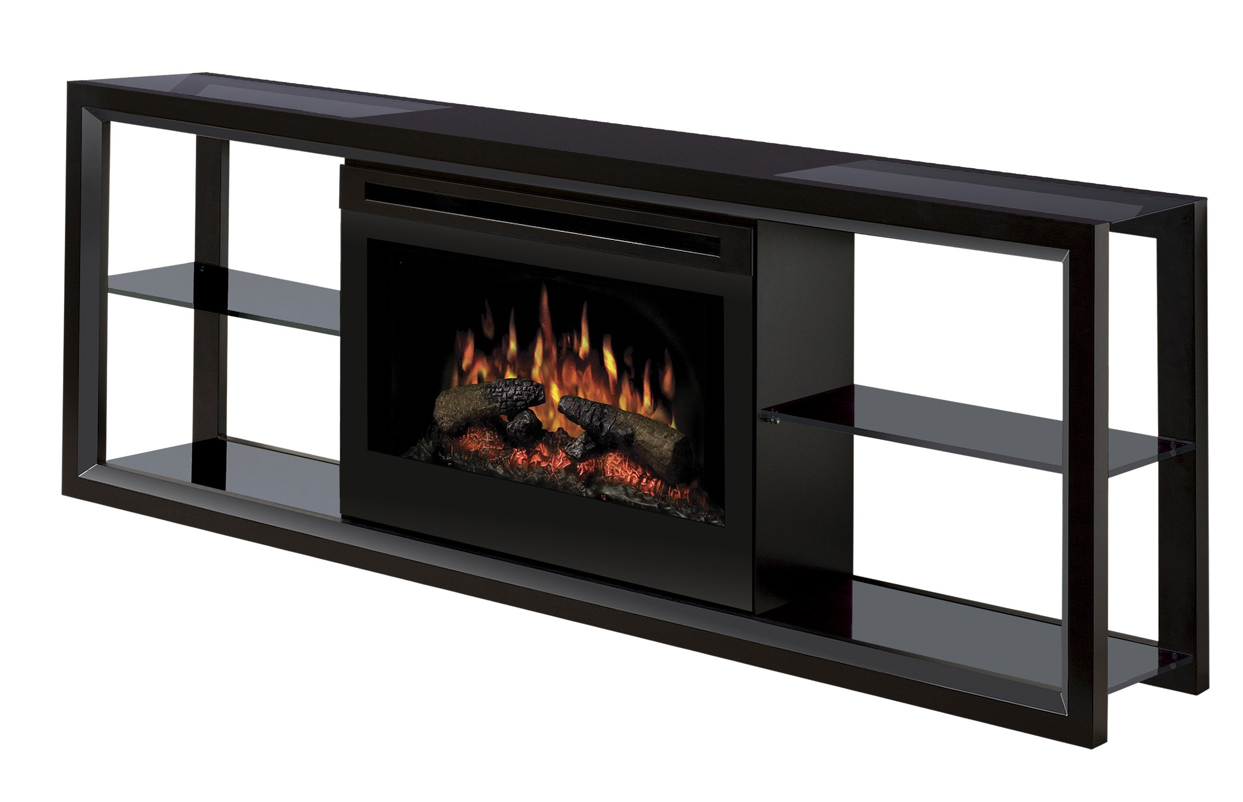 Dimplex Novara TV Stand with Electric Fireplace in Multiple ...