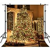 Ouyida 10X10FT Christmas theme Pictorial cloth Customized photography Backdrop Background studio prop GA32A (Color: GA32, Tamaño: 10X10FT)