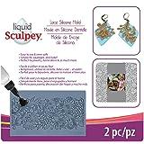 Sculpey APM-56 Flexible Push Mold-Lace (Color: Lace)