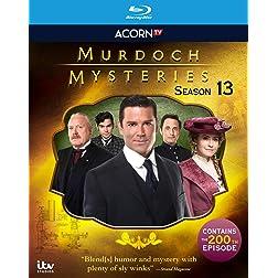 Murdoch Mysteries, Seaason 13 [Blu-ray]