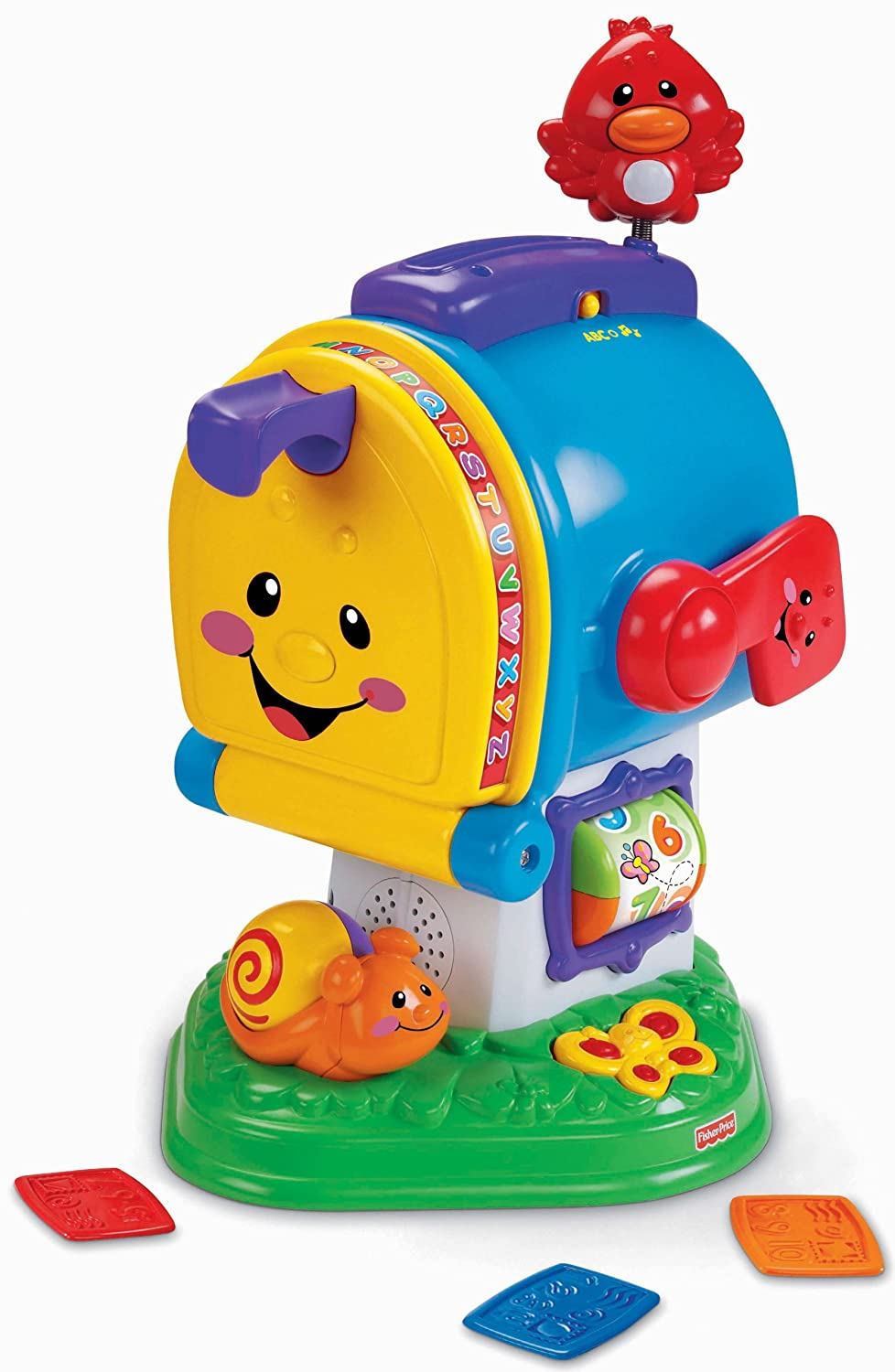 Latest Educational Toys : Fisher price laugh and learn learning letters mailbox