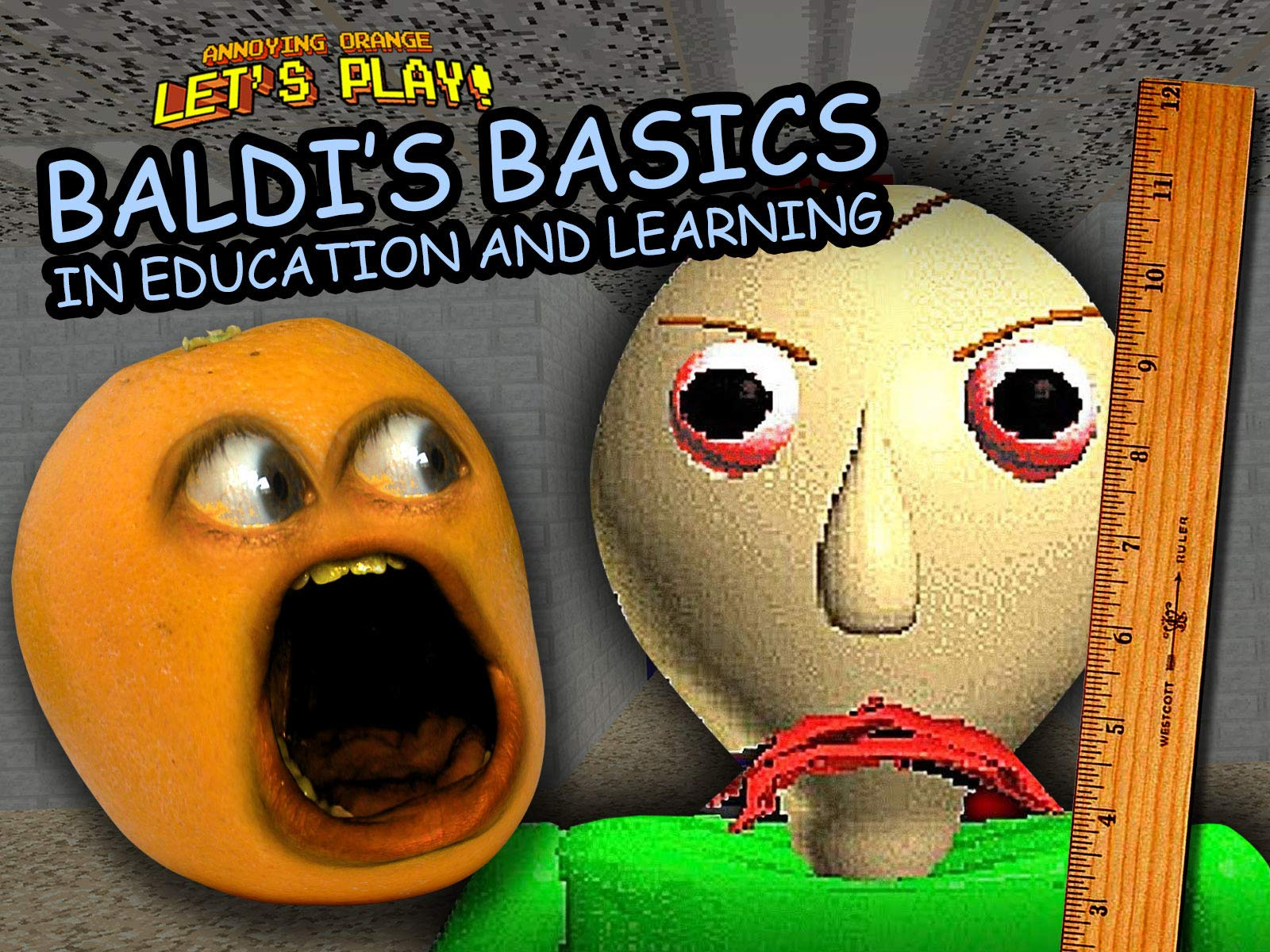 Clip: Annoying Orange Let's Play Baldi's Basics in Education and Learning - Season 1