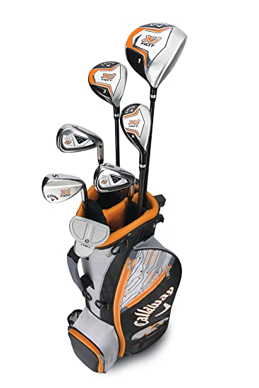 Callaway Boys XJ Hot Junior Kids Golf Club Set at amazon
