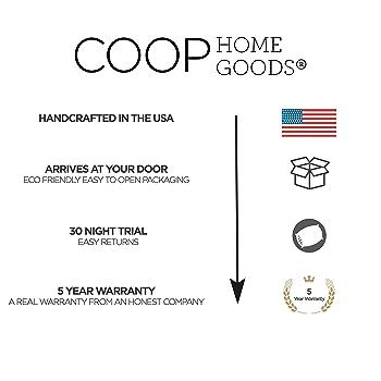 Coop Home Goods Shredded Memory Foam Pillow