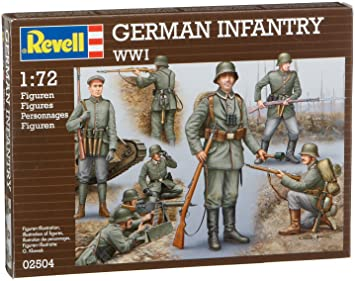 Revell - 2504 - Maquette Classique à Peindre et à Coller - Infanterie All 1 - Grande Modèle