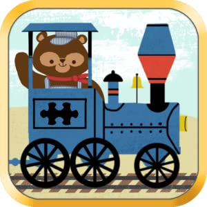 Train Games for Kids: Zoo Railroad Car Puzzles HD - The Best Cool and Fun Animated Puzzle Game for Preschool, Kindergarten, and Young Children from Scott Adelman Apps Inc