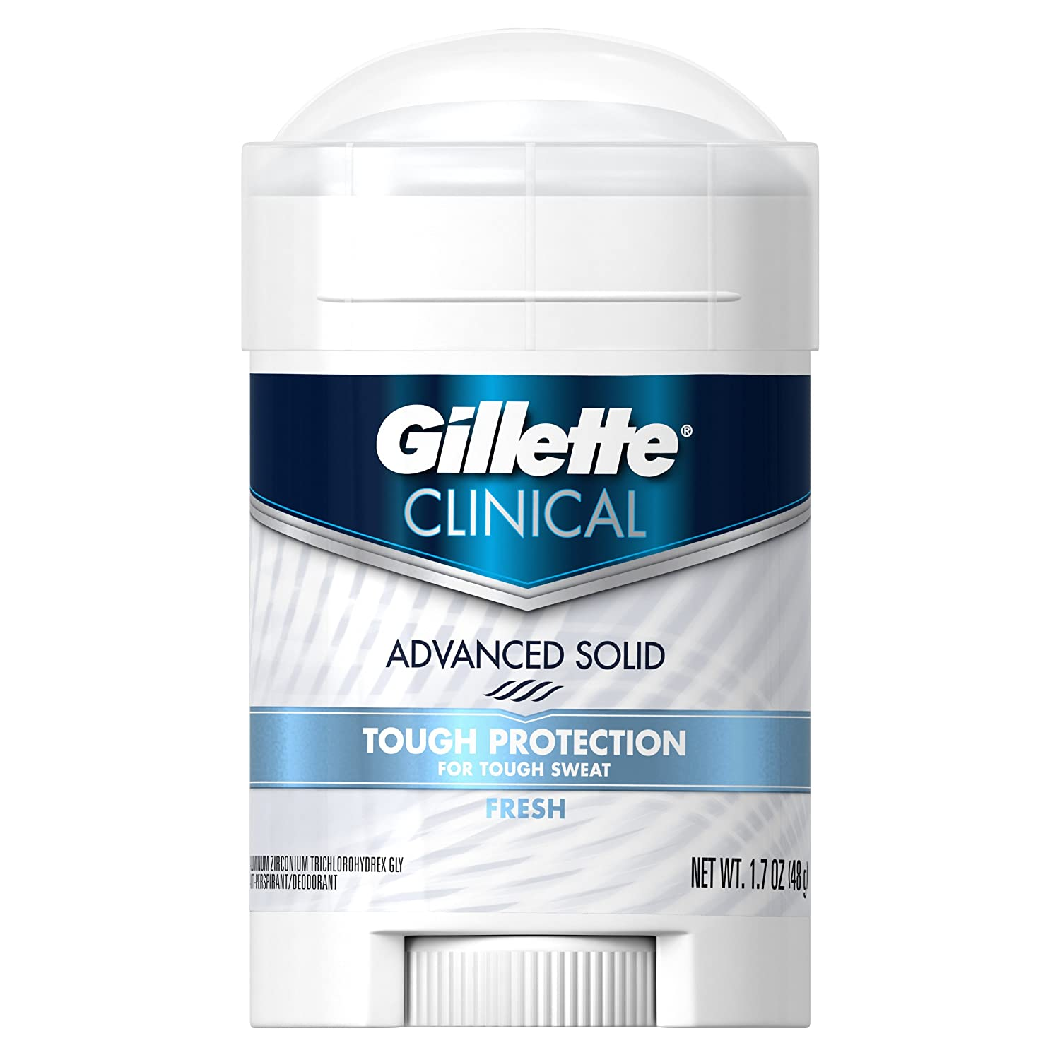 Gillette Clinical Strength All Day Fresh Anti-Perspirant / Deodorant 1.7 Oz