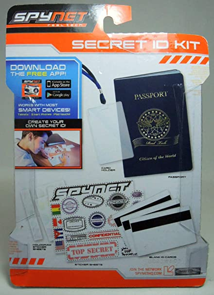 Spy Kit Spy Net Secret id Kit
