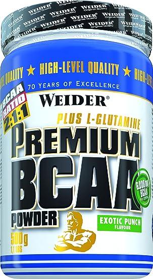 Weider Premium BCAA Powder Kirsch-Kokos, 1er Pack (1 x 500 g)