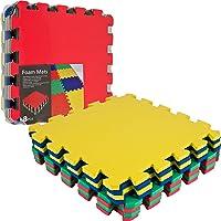 8-Piece TG Multi-Color EVA Foam Exercise Mat