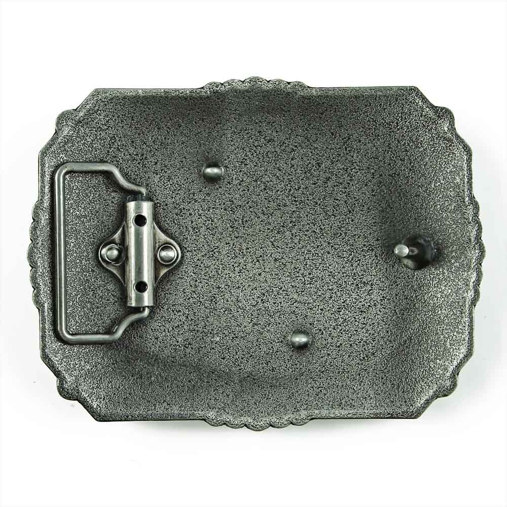 Senmi Vintage Cowboy Prayer Belt Buckles- with Senmi Box Gift Wrapped 2