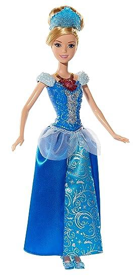 Disney Princesses - Bdj23 - Poupée Mannequin - Princesse Cendrillon - Pierre Précieuse
