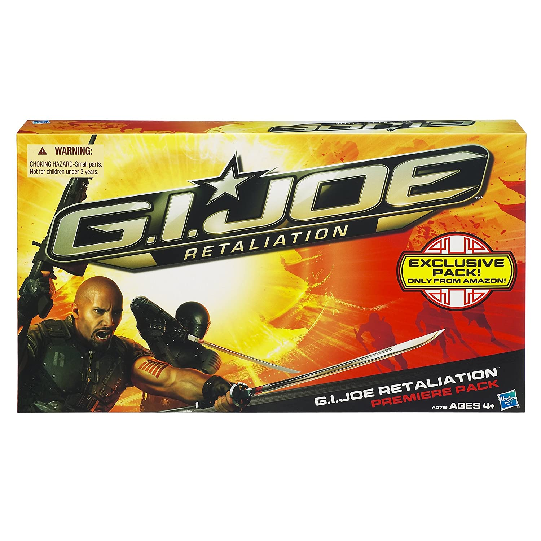 G.I. Joe – A0719 – Retaliation / Die Abrechnung – EXCLUSIVE – G.I. Joe Retaliation Premiere 4-Pack – Heavy Machine Gunner, G.I. Joe Ninja, Cobra Ninja & Cobra Leader – ca. 10 cm – mit Waffen günstig