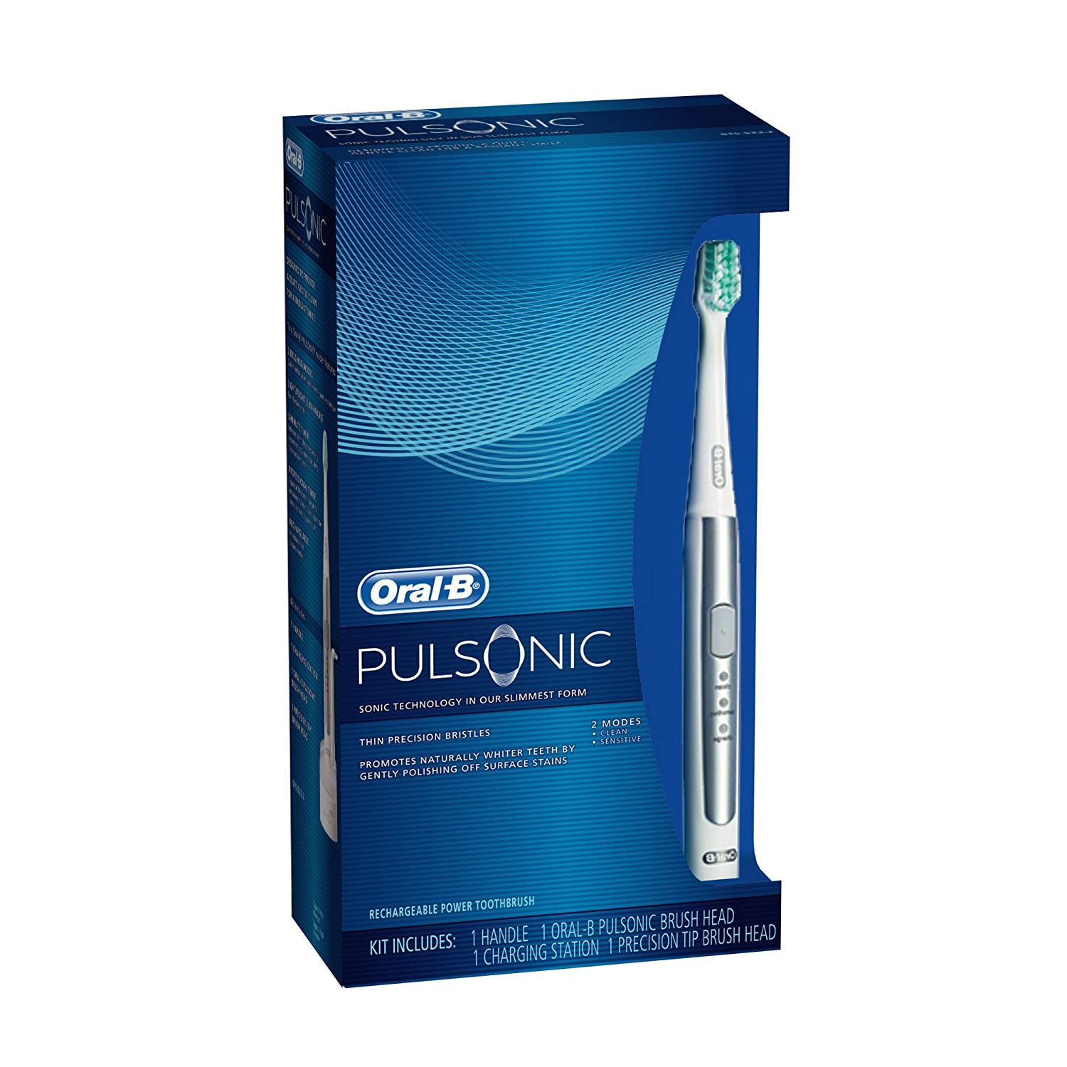 Oral-B Pulsonic Sonic Electric Toothbrush 1 Count (Price after rebate: $34.99)