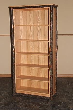 Rustic Hickory Bookshelf- LARGE