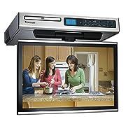 Venturer KLV3915 Undercabinet Kitchen LCD TV/DVD Combo, 15.4''