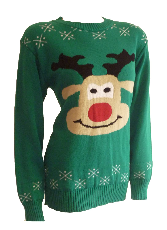 Reindeer Novelty Christmas Jumper