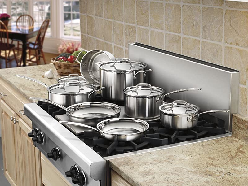 Cuisinart MCP-12N Multiclad Pro Stainless Steel 12-Piece Cookware Set via Amazon