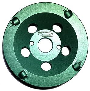 PRODIAMANT Premium PKD DiamantSchleiftopf 125/22,2 4Segmente grün PDX829.793  BaumarktKundenbewertung und weitere Informationen